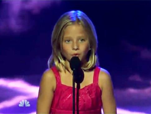 'Jackie Evancho Americas Got Talent